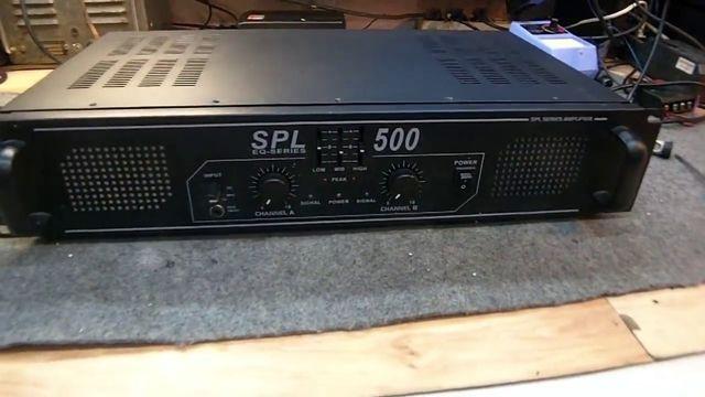 Końcówka mocy spl 500