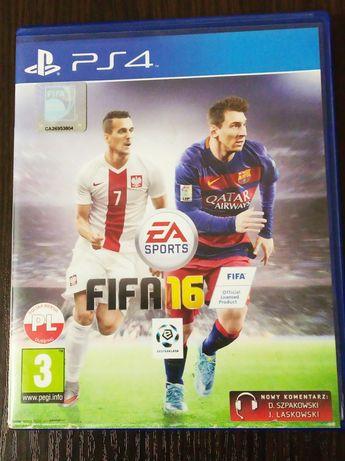 Продам диск Fifa 16 PS4