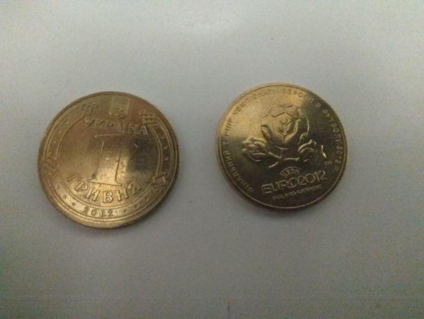 Монета euro 2012