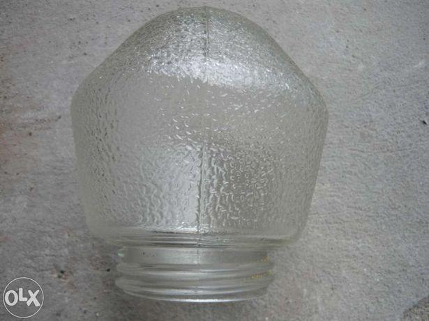 klosz szklany z gwintem