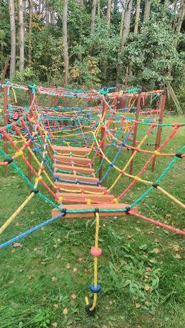 Most linowy liny wspinaczkowe małpi gaj plac zabaw 2,1 m lin a 16 mm
