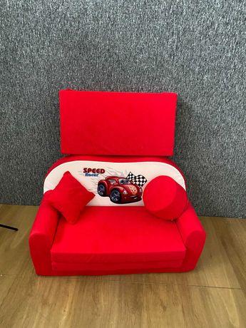 NOWA - SOFA dziecięca / sofka kanapa czerwona- 30% taniej - LIKWIDACJA