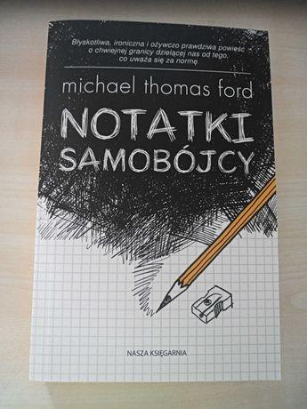 """Książka ,,Notatniki Samobójcy"""""""