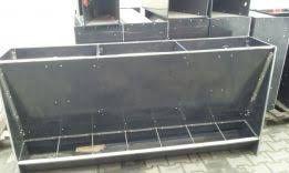 autokarmnik na 7 stanowisk karmnik zasypowy dla W T z płyty