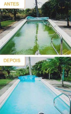 Limpeza de piscina/Manutenção