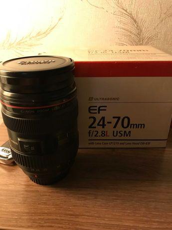 Объектив Canon 24-70 F2.8