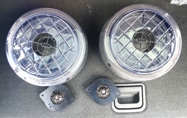Kit 4 Colunas de som Frontais Audi A4 B8 - originais