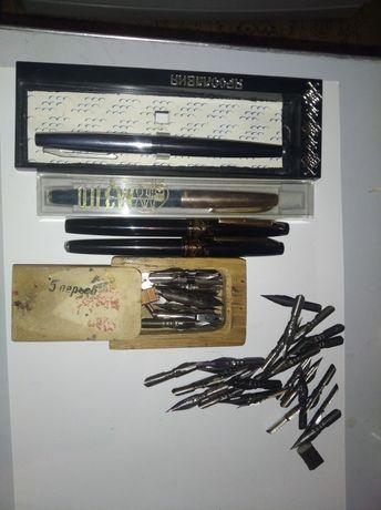 Ручки чернильные и пера