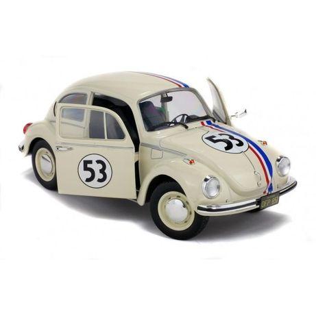 "Miniatura 1:18 - VW BEETLE ""HERBIE"" The love Bug"