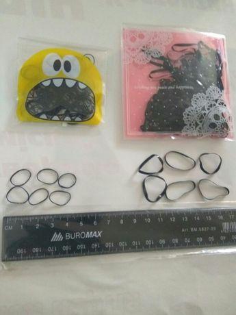 Резинки для волос , силиконовые резиночки для косичек причесок 100 шт