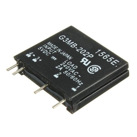 rele SSR solid state g3mb-202P 12v DC para 240V AC 2A