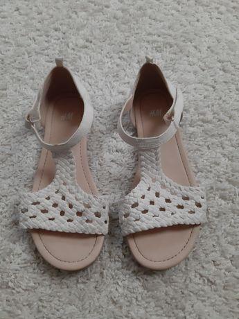 Sandały dziewczęce H&M rozm. 34
