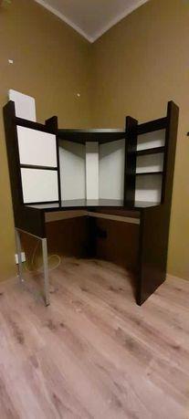 Meble używane biurko młodzieżowe IKEA Micke, rama łóżka IKEA