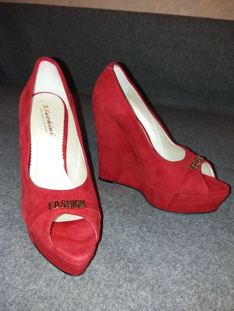Туфли замшевые exclusive