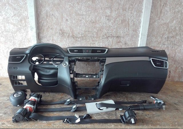Tablier airbags cintos Nissan Qashqai II J11