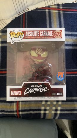 Funko pop marvel total carnage px previews 673