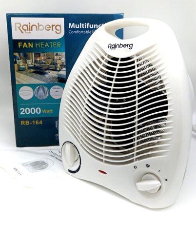 Тепловентилятор Rainberg RB-164 2000W обогреватель комнатный