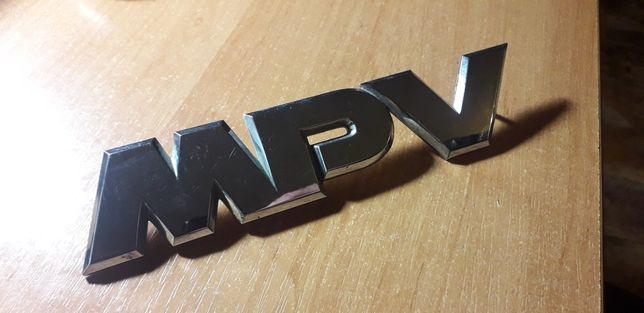 Шильдик MPV на Мазду
