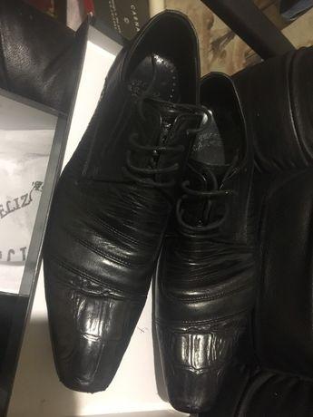 Туфли кожанные 40 размер