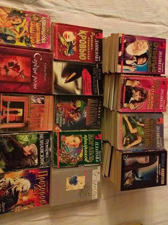 Отдам кучу женских романов.
