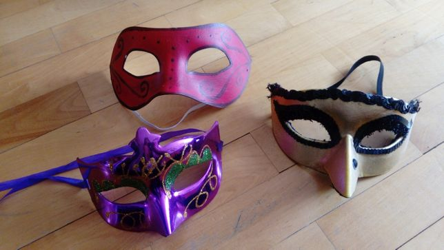 Maski - różne