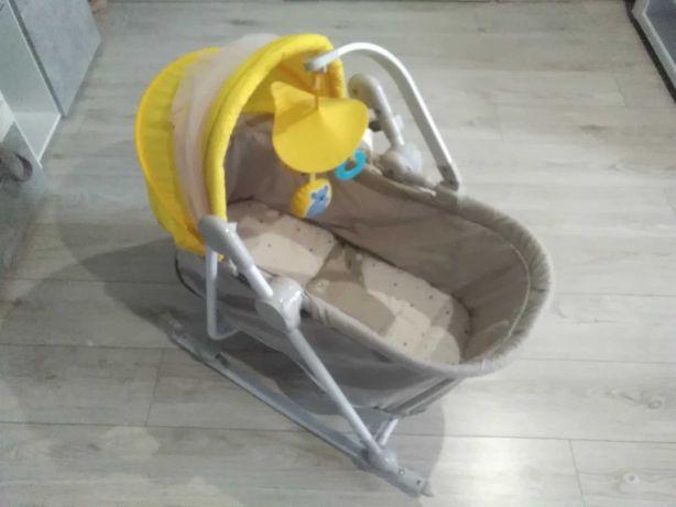 Leżaczek bujaczek UNIMO kinderkraft 5 w 1 od 0 do 18 kg