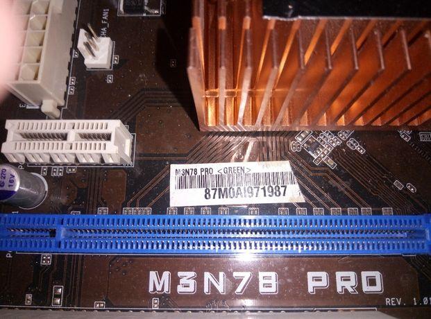 Материнская плата Asus m3n78 Pro с процессором Phenom .