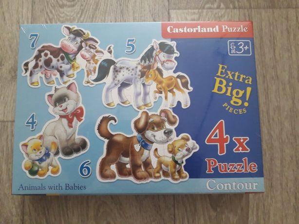 Новые пазлы для малышей Castorland