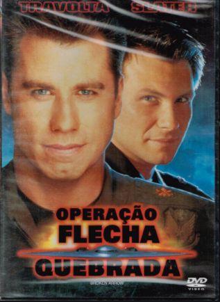 Dvd NOVO Operação Flecha Quebrada PLASTIFICADO Filme Travolta Entrg JÁ