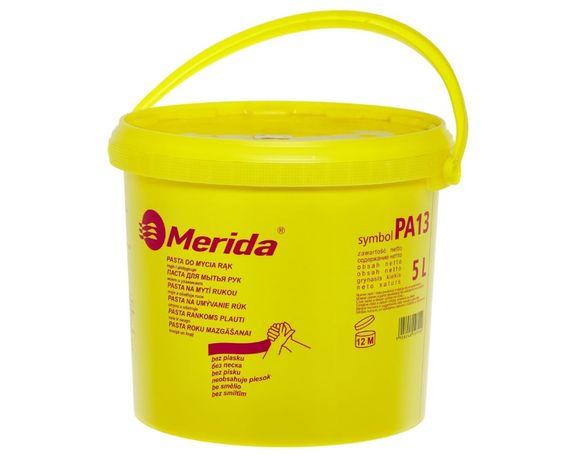 Pasta do mycia rąk Merida wiadro 5L do silnych zabrudzeń