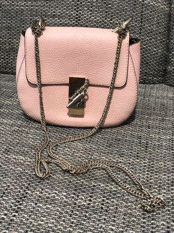 Сумочка нежно-розового цвета