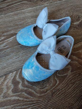 Балетки 27 р 17 см по подошве  Эльза туфельки туфли