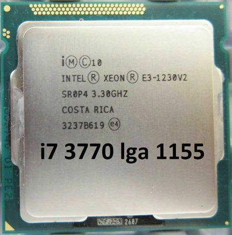 Процессор Intel® Xeon® E3-1230v2 (аналог Intel Core i7-3770)