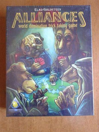 Jogo de tabuleiro Alliances
