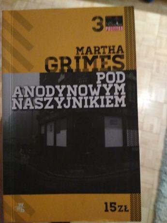 """Książka M.Grimes """"pod anodynowym naszyjnikiem"""""""
