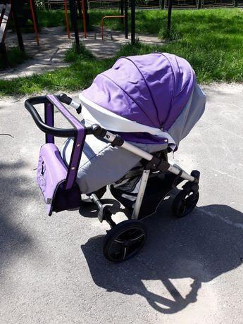 Коляска прогулочная Bebetto Nico в идеальном состоянии+сумка в подарок