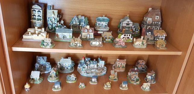Domki figurki zestaw 36szt kolekcja