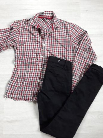 Zestaw jeansy DENIM CO +koszula Kids (158cm)