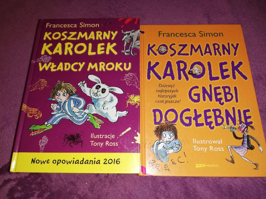 Książki dla dzieci z serii Koszmarny Karolek Francesca Simon Białystok - image 1