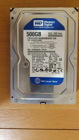 Вінчестер WD5000AAKS 500GB