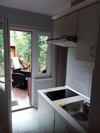 Ewelina- pokoj 4 osobowy z aneksem kuch.i ładnym tarasem,bony turyst.