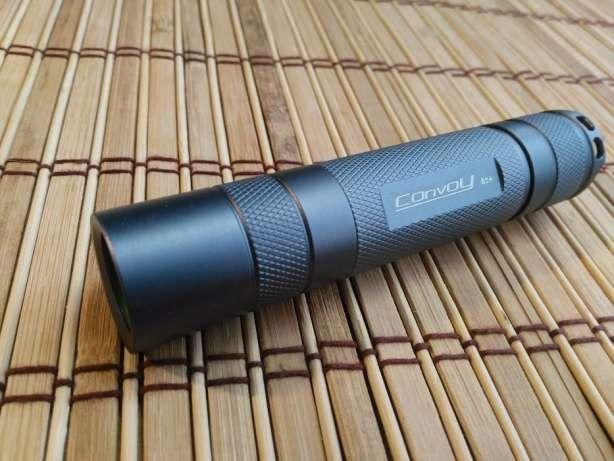 Светодиодный фонарь CONVOY S2+ CREE XM-L2, Nanjg 105c 1100 люмен
