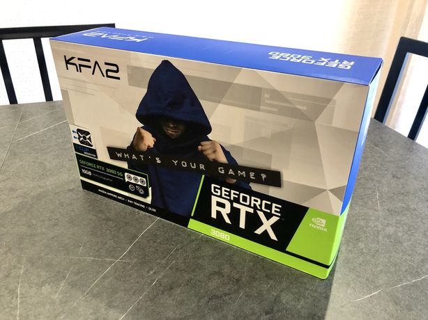 Placa Gráfica nVidia RTX3080 OC 10GB GDDR6X-2 Anos Garantia Nacional