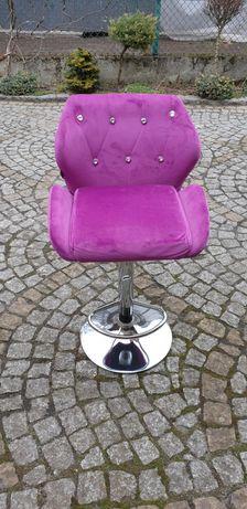 Hoker regulowany glamour krzesło