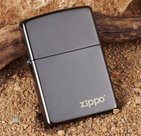 Zippo Black Ice logo