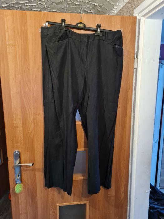 Spodnie czarne damskie Ksawerów - image 1
