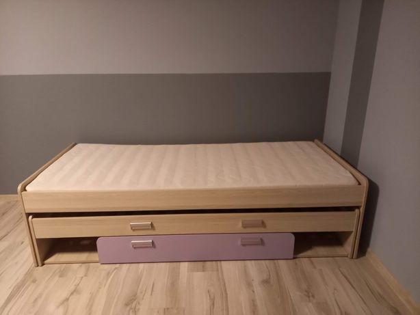 Łóżko 90/200  podwójne, wysuwane.