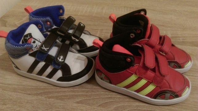 Buciki buty adidas białe dla chłopca rozmiar 25