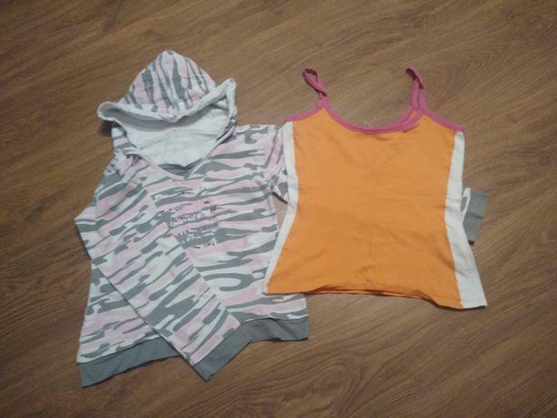 Bluzka i koszulka dla dziewczynki