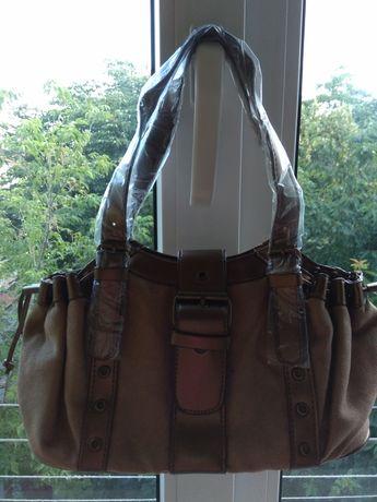 Новая сумка из замши